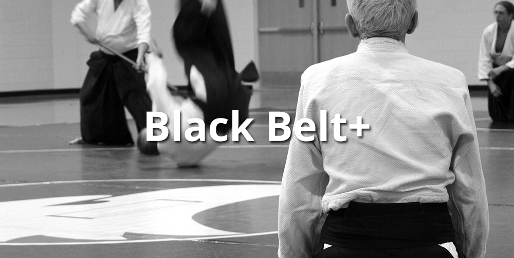 aikido black belts