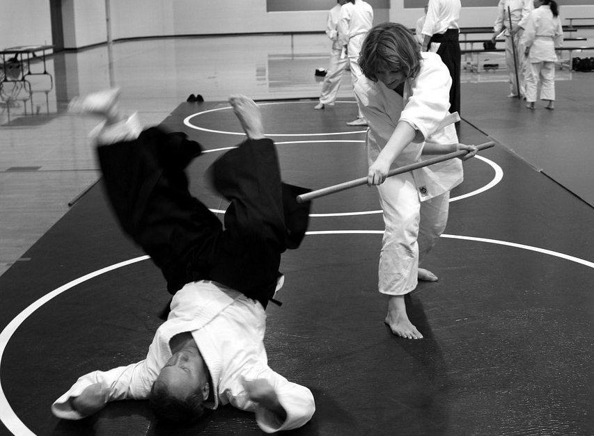 aikido kai throw